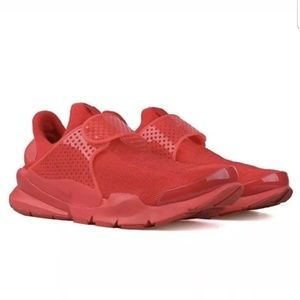 NEW Nike Sock Dart Red October Mens Size 10/11